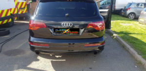 AUDI Q7 Tail Light Tint