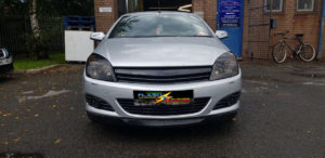 Vauxhall Convertible headlights, fog lights and tail lights tint